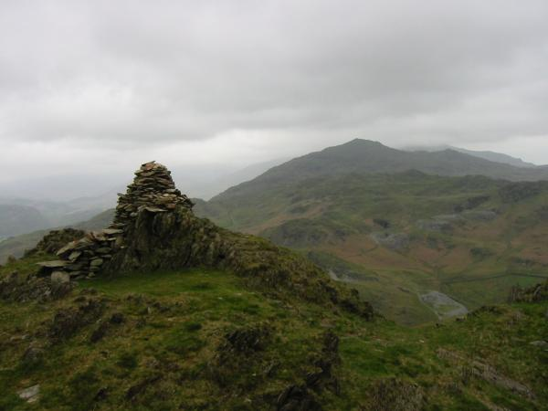 Caw from Stickle Pike summit