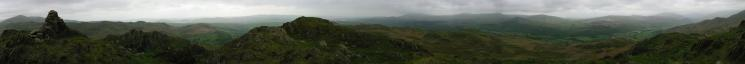 360 Panorama from Stickle Pike summit
