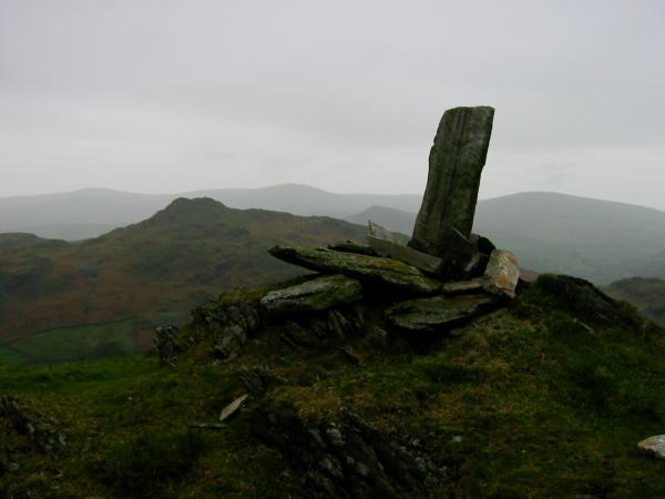 ...and from the same point, left to right - Buck Barrow, Stickle Pike, Whitfell, The Pike and Hesk Fell