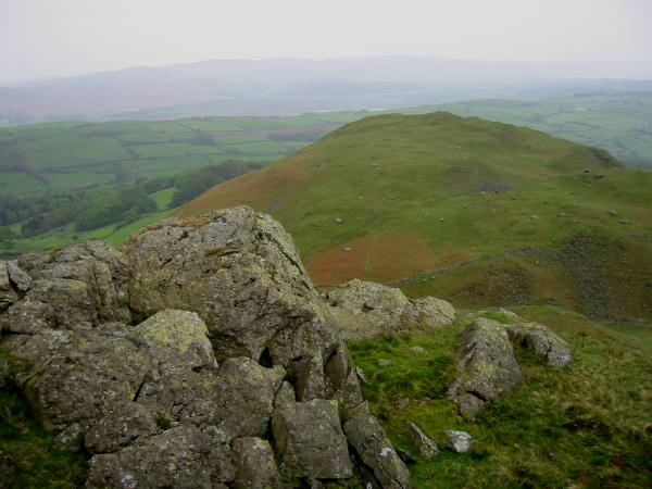 The Knott from the top of Raven's Crag