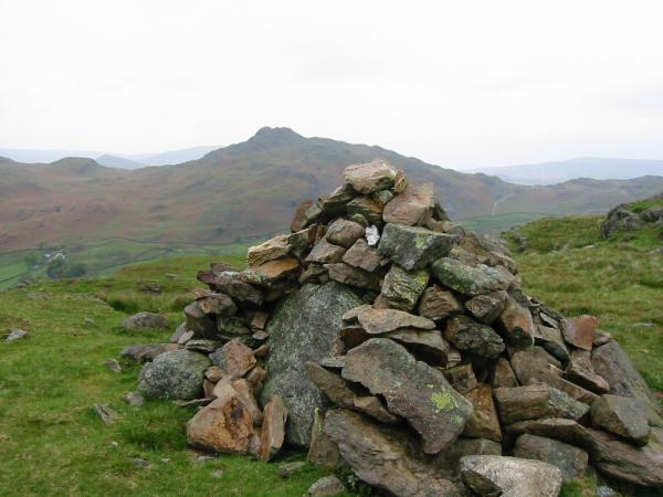 Stickle Pike from The Knott's summit