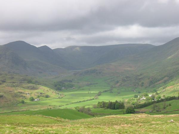 The Kentmere Horseshoe from Hollow Moor