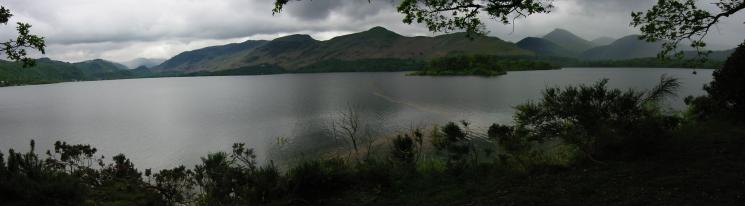 A Derwent Water panorama