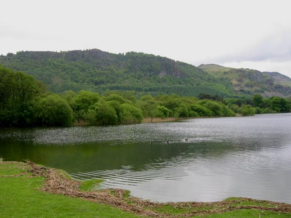 Walla Crag and Falcon Crag