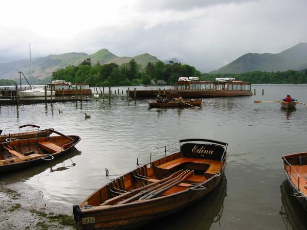 Catbells from the Derwent Water landing stages
