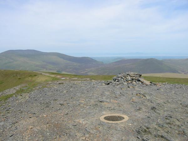 Skiddaw and Great Calva from the summit
