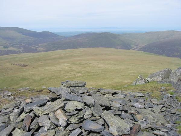 The flat top of Mungrisdale Common from Atkinson Pike