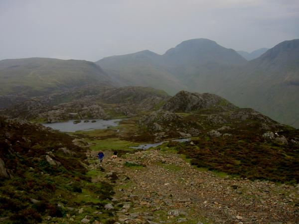 Green Gable, Great Gable and Innominate Tarn