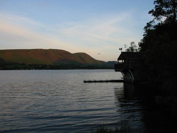 Arthur's Pike and Bonscale Pike seen across Ullswater