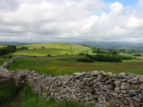 Cunswick Fell from Kendal Fell