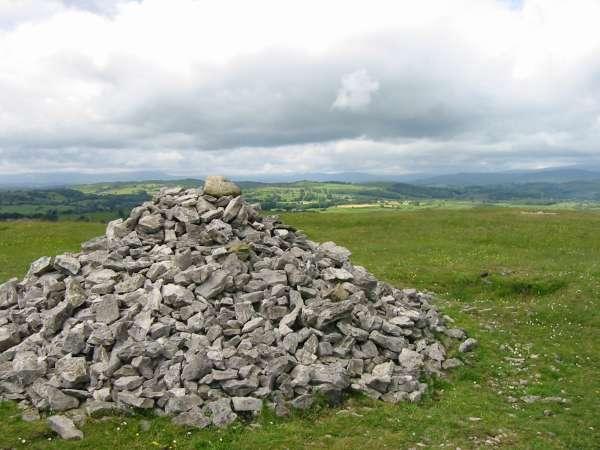 Cunswick Scar summit cairn