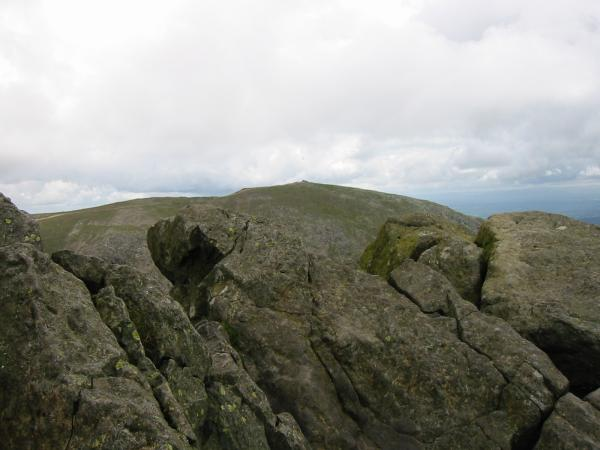 Coniston Old Man from Dow Crag summit