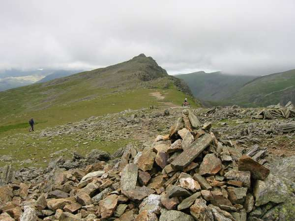 Looking back to Dow Crag from Buck Pike