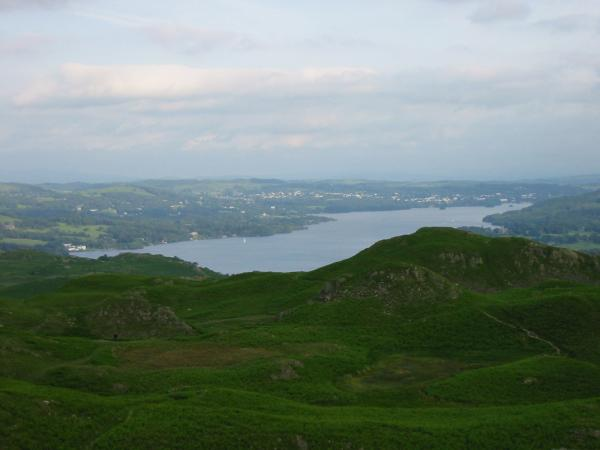 Looking south to Windermere