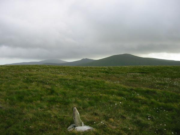 Black Combe, Buck Barrow and Whitfell from Hesk Fell's summit