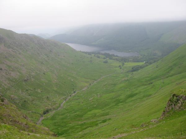 Wythburn valley and Thirlmere