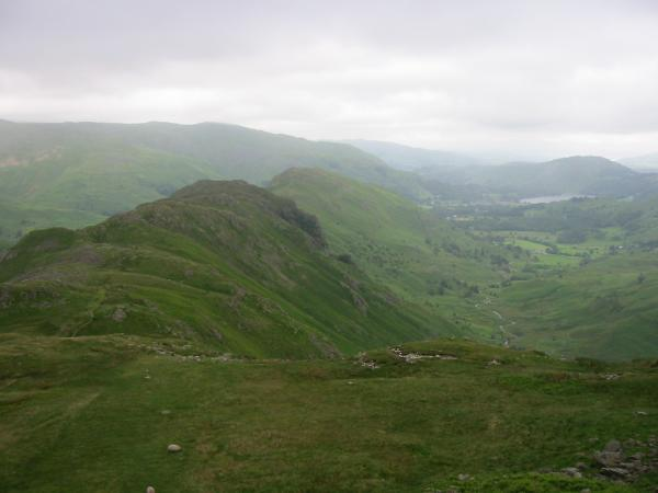 The Gibson Knott - Helm Crag ridge and Far Easedale