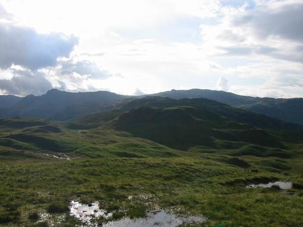 The ridge to Blea Rigg from Silver How