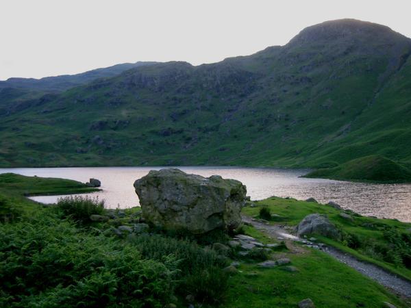 Easedale Tarn and Tarn Crag