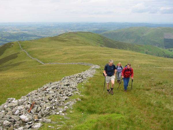 Climbing Ladyside Pike's north ridge