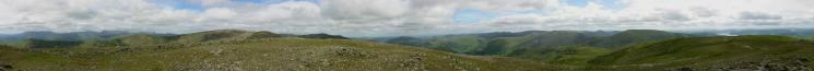 360 Panorama from Dove Crag's summit