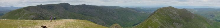 Northerly Panorama from Fairfield's summit