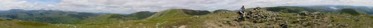 360 Panorama from Great Rigg's summit