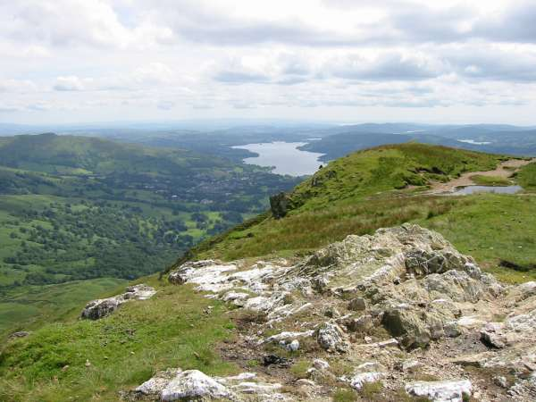 Windermere from Heron Pike summit