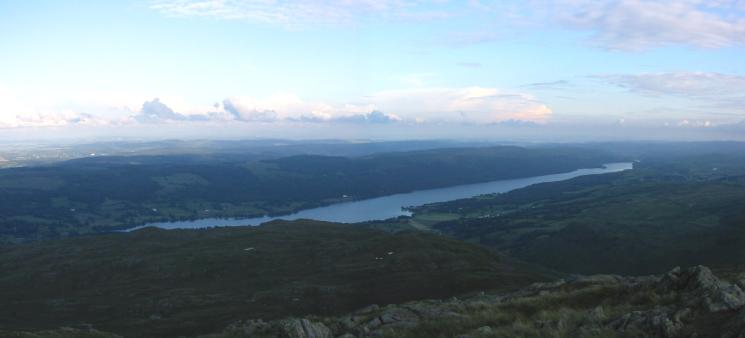 Coniston Water from Lad Stones