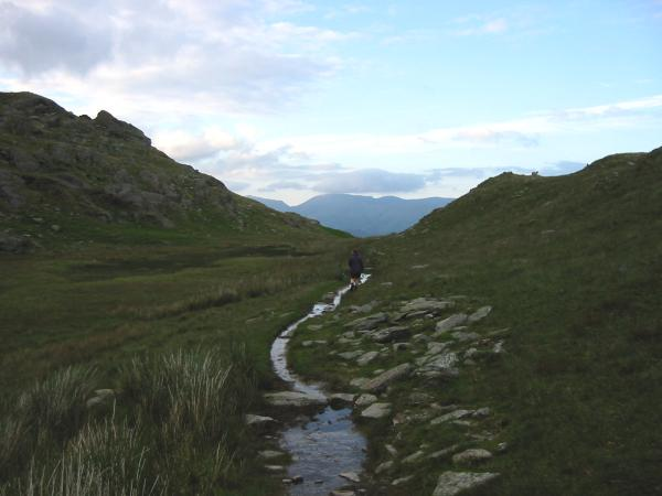 Hole Rake, heading towards Tilberthwaite