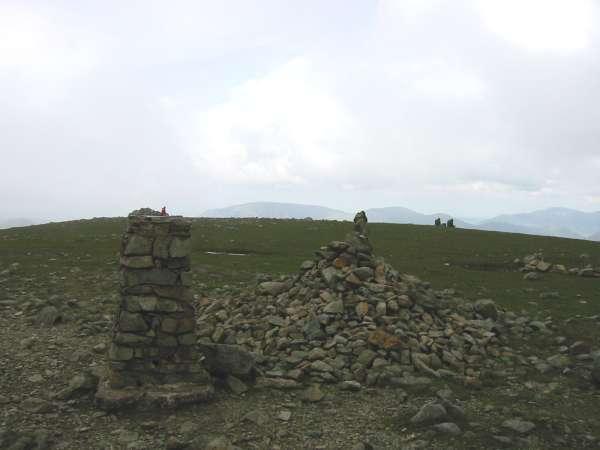 A cloudy Pillar summit