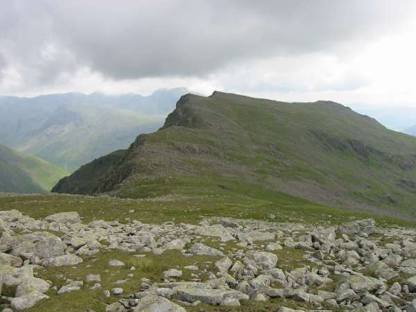 Red Pike from the route off Scoat Fell