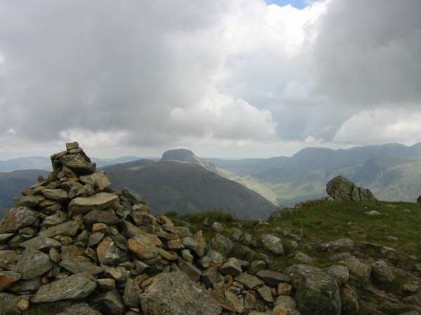 Great Gable from Red Pike's summit
