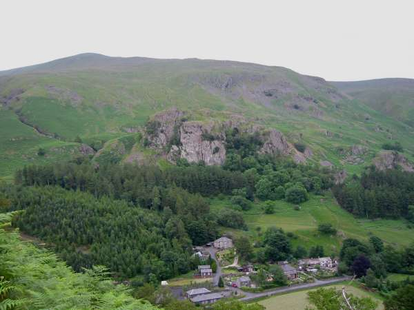 Castle Rock of Triermain below Watson's Dodd