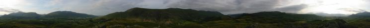 360 Panorama from High Rigg's summit