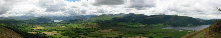 Another panorama (Latrigg to Sale Fell)