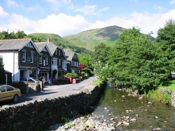 Leaving Glenridding with Birkhouse Moor ahead