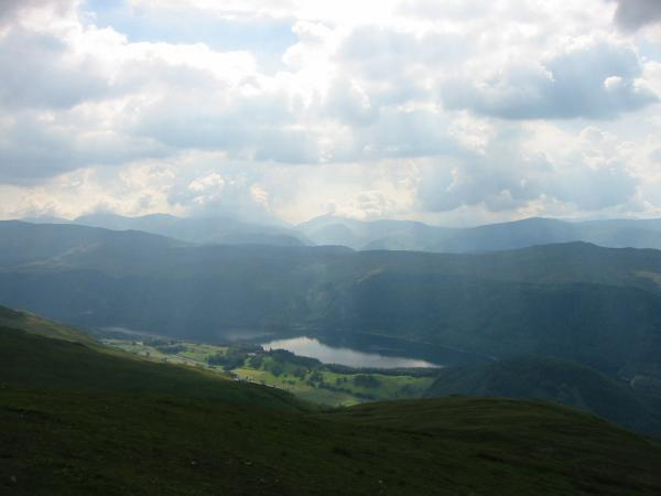 Thirlmere from Watson's Dodd