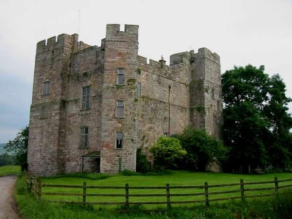 Dacre Castle, built 1307