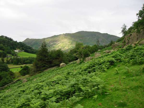 Looking back towards Place Fell