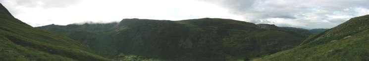 Looking northwards across Grisedale