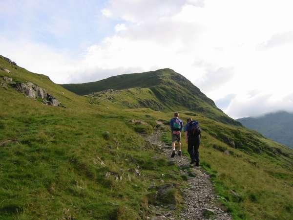 Saint Sunday Crag ahead