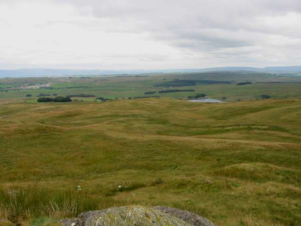 Shap works and Wet Sleddale Reservoir from Gambling Crag
