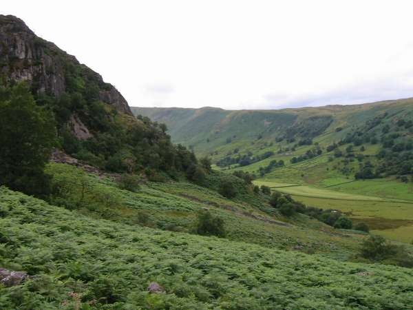 Swindale from the descent by Gouthercrag Gill