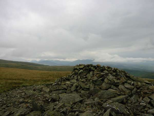 White Combe summit cairn