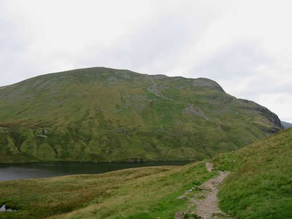 Dollywaggon Pike and Grisedale Tarn from Grisedale Hause