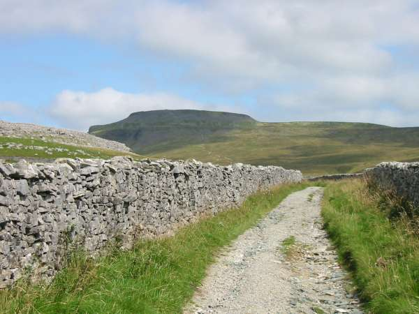 Ingleborough from the Fell Road