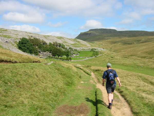 Crina Bottom and Ingleborough