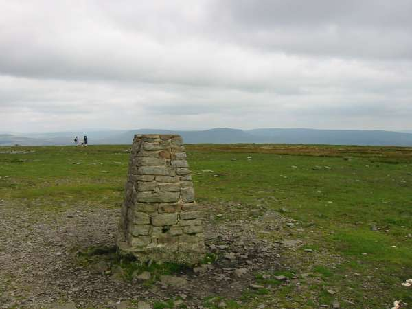 Pen-y-ghent from Ingleborough's trig point