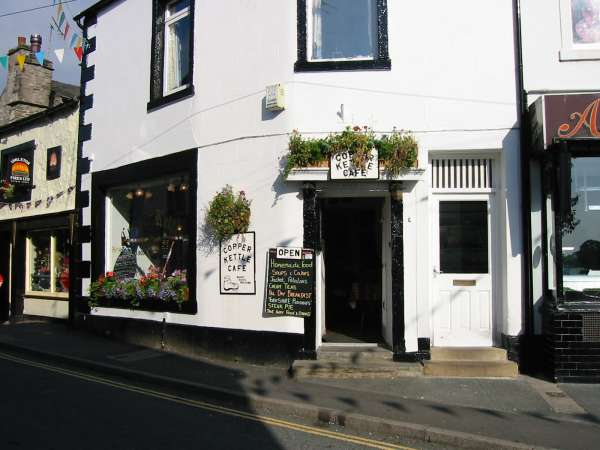 Copper Kettle Cafe, Ingleton, walker friendly